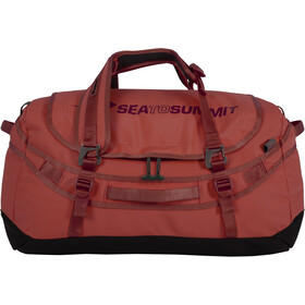 Sea to Summit Duffle Plecak 65L, red